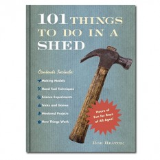 Hampers and Gifts to the UK - Send the 101 Things to Do In A Shed