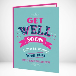 Hampers and Gifts to the UK - Send the Get Well Soon Cards