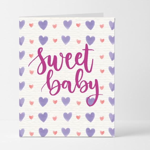 Hampers and Gifts to the UK - Send the Sweet Baby Card