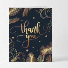 Hampers and Gifts to the UK - Send the Golden Feathers Thank You Card