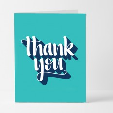 Hampers and Gifts to the UK - Send the Retro Thank You Card