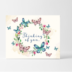 Hampers and Gifts to the UK - Send the Thinking of You Sympathy Card