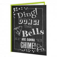 Hampers and Gifts to the UK - Send the Ding Dong Bells Wedding Card
