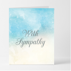 Hampers and Gifts to the UK - Send the With Sympathy Card