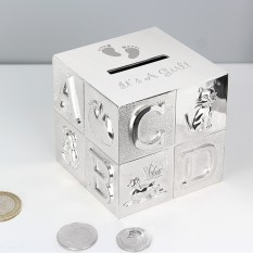 Hampers and Gifts to the UK - Send the It's a Girl ABC Money Box