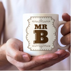 Hampers and Gifts to the UK - Send the Initial Letter Mug - Mr