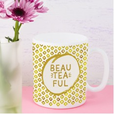 Hampers and Gifts to the UK - Send the Beau-tea-ful Tea Lover Mug
