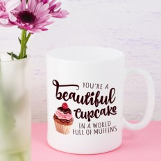 Hampers and Gifts to the UK - Send the You're a Beautiful Cupcake Mug