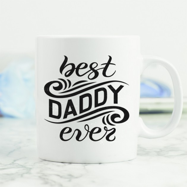 Hampers and Gifts to the UK - Send the Best Daddy Ever Mug