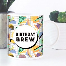 Hampers and Gifts to the UK - Send the Birthday Brew Mug