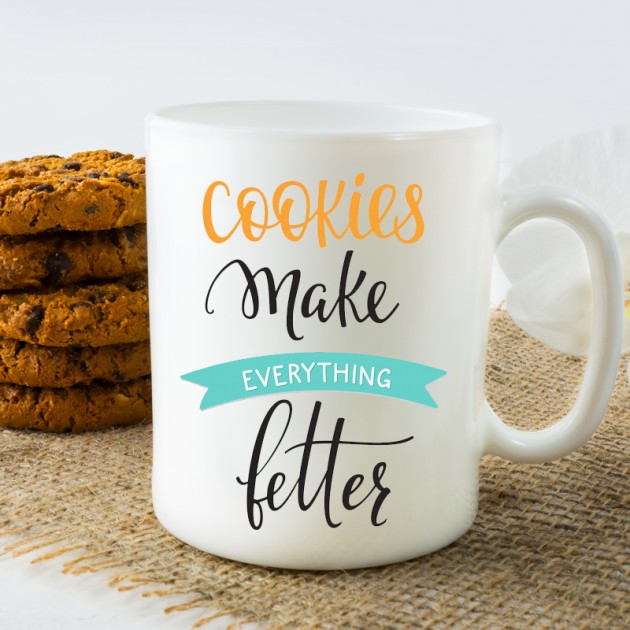 Hampers and Gifts to the UK - Send the Cookies Make Everything Better Mug
