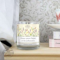 Hampers and Gifts to the UK - Send the Personalised Country Diary Scented Candle