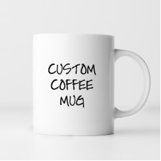Hampers and Gifts to the UK - Send the Personalised Custom Coffee Mug