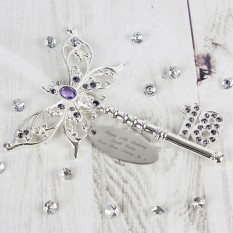 Hampers and Gifts to the UK - Send the Engraved 18th Birthday Butterfly Key