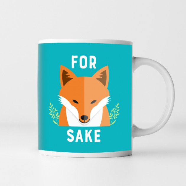 Hampers and Gifts to the UK - Send the For Fox Sake Mug