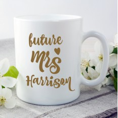 Hampers and Gifts to the UK - Send the Future Mrs Wedding Mug