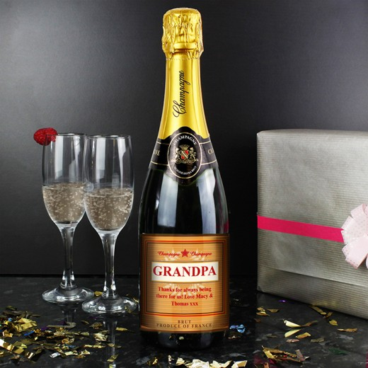 Hampers and Gifts to the UK - Send the Personalised Luxury Champagne