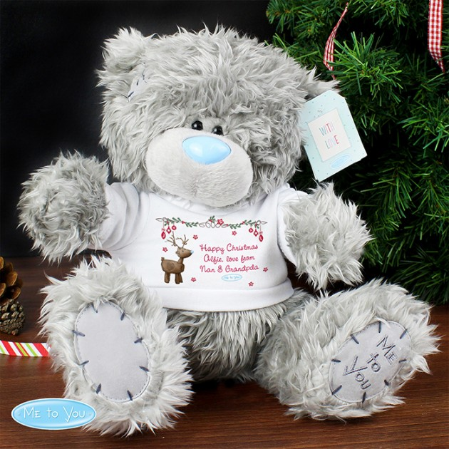 Hampers and Gifts to the UK - Send the Personalised Me to You Reindeer Bear