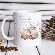 Hampers and Gifts to the UK - Send the Owl Always Love You Mug
