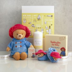 Hampers and Gifts to the UK - Send the Paddington Bear Welcome Baby Gift Set