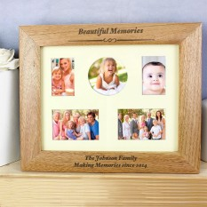 Hampers and Gifts to the UK - Send the Personalised Any Message Wooden Frame