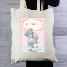 Hampers and Gifts to the UK - Send the Personalised Me To You Daisy Tote Bag