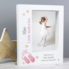 Hampers and Gifts to the UK - Send the Personalised Swan Lake Ballet Photo Frame