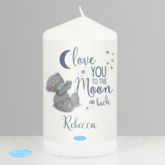 Hampers and Gifts to the UK - Send the Personalised Me To You To the Moon and Back Candle