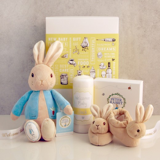 Hampers and Gifts to the UK - Send the Peter Rabbit Welcome Baby Gift Set