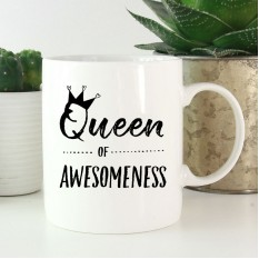 Hampers and Gifts to the UK - Send the Queen of Awesomeness Mug
