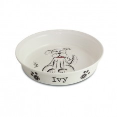 Hampers and Gifts to the UK - Send the Personalised Dog Bowl - Scribble