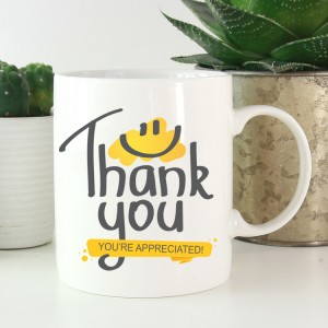 Hampers and Gifts to the UK - Send the Thank You Mugs