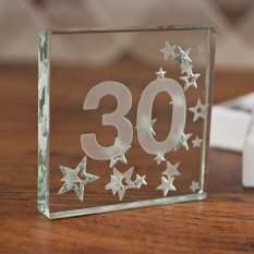 Hampers and Gifts to the UK - Send the Celebrate 30 Miniature Spaceform Token
