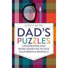 Hampers and Gifts to the UK - Send the Dad's Crossword and Word Search Book