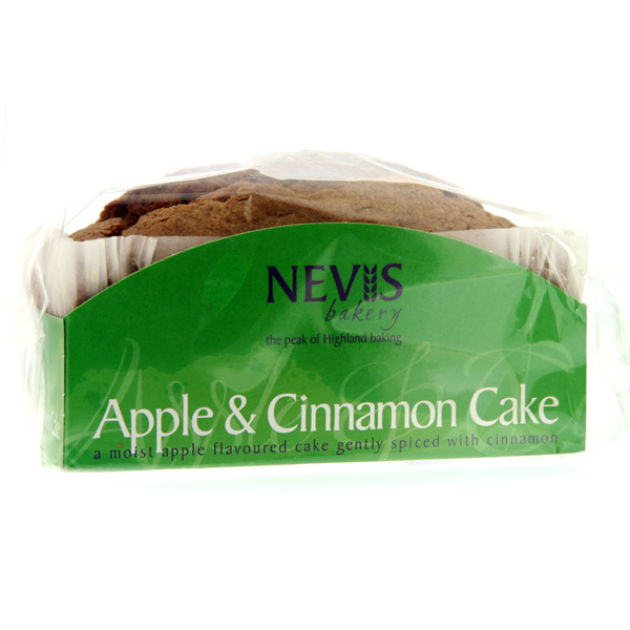 Hampers and Gifts to the UK - Send the Nevis Apple and Cinnamon Cake - 300g