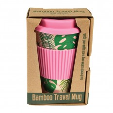 Hampers and Gifts to the UK - Send the Bamboo Travel Mug - Tropical