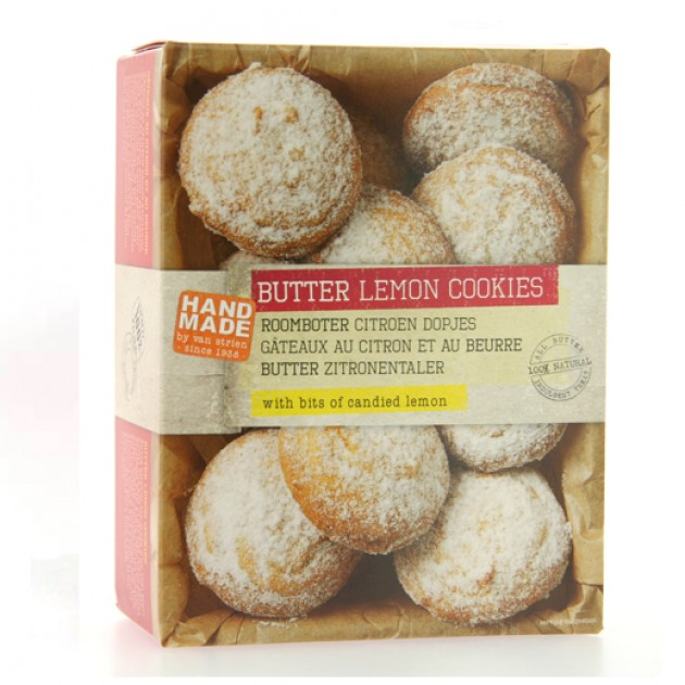 Hampers and Gifts to the UK - Send the Handmade Butter Lemon Cookies by Van Strien