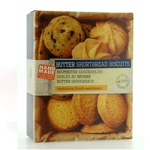 Hampers and Gifts to the UK - Send the Hand Made Butter Shortbread by Van Strien