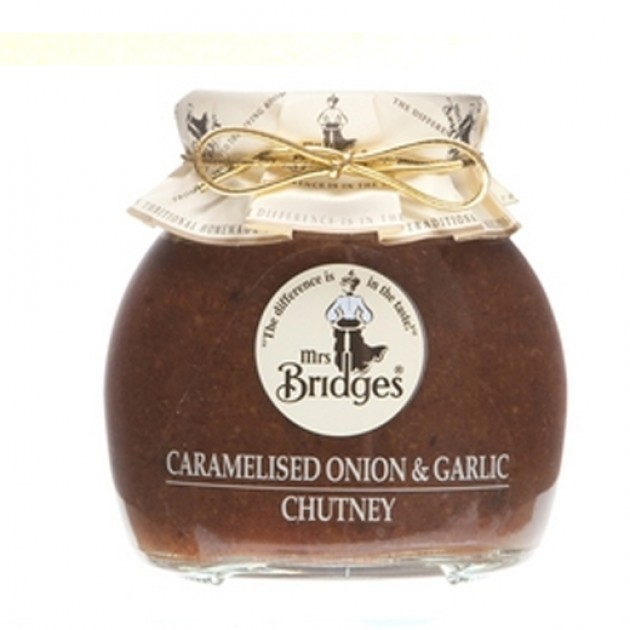 Hampers and Gifts to the UK - Send the Mrs Bridges Caramalised Onion and Garlic Chutney