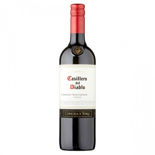 Hampers and Gifts to the UK - Send the Casillero Del Diablo Cabernet Sauvignon - 75cl