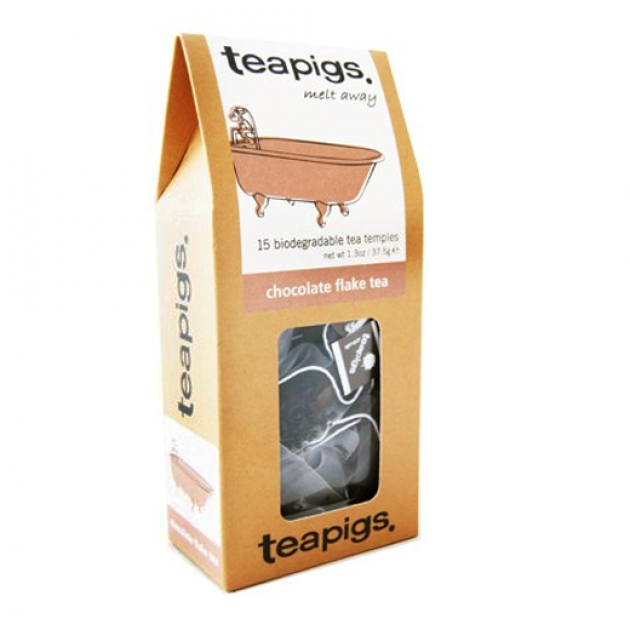 Hampers and Gifts to the UK - Send the Teapigs Chocolate Flake Tea