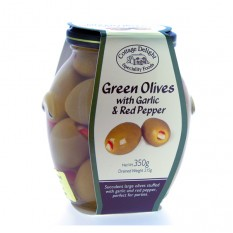 Hampers and Gifts to the UK - Send the Cottage Delight Stuffed Green Olives