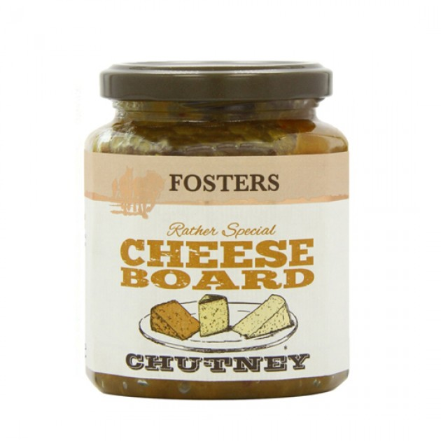 Hampers and Gifts to the UK - Send the *OUT OF STOCK* - Fosters Cheese Board Chutney
