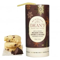 Hampers and Gifts to the UK - Send the Dean's Belgian Chocolate & Orange Shortbread