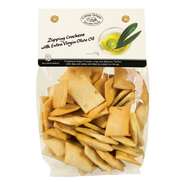 Hampers and Gifts to the UK - Send the Dipping Crackers with Extra Virgin Olive Oil