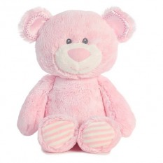 Hampers and Gifts to the UK - Send the Aurora's Huggies Baby Pink Bear