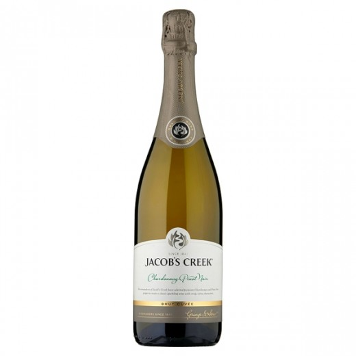Hampers and Gifts to the UK - Send the * OUT OF STOCK * - Jacob's Creek Chardonnay Pinot Noir Brut Cuvée - 75cl