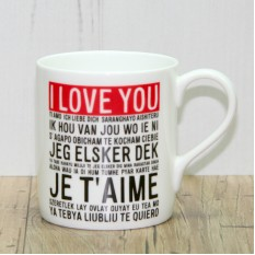 Hampers and Gifts to the UK - Send the I Love You Mug
