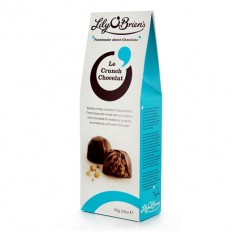 Hampers and Gifts to the UK - Send the Lily O'Brien's Le Crunch Chocolat Pouch
