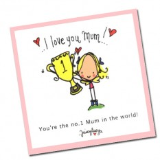 Hampers and Gifts to the UK - Send the I Love You Mum Book